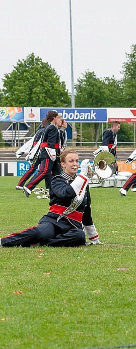 Kamper Trompetterkorps | Kampen | Dans, show en beleving tijdens muziek uitvoering