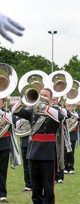 Kamper Trompetterkorps | Kampen | sousafoon marchingband