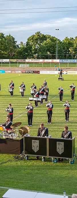 Kamper Trompetterkorps | Kampen | showfiguratie Carpe diem