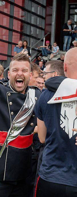 Kamper Trompetter Korps | Kampen | Nederlands Kampioenschap vieren