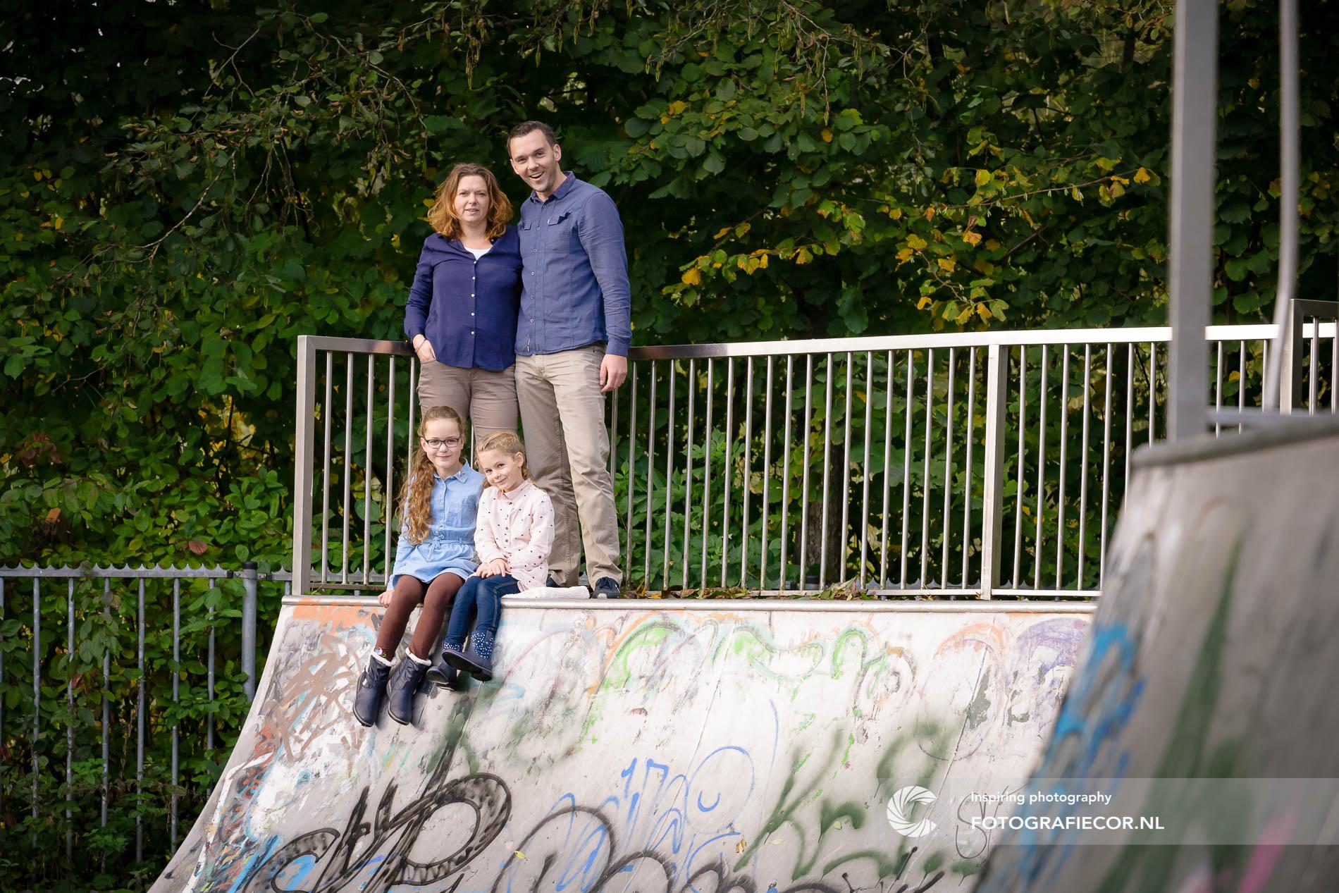 fotoshoot familie | skatepark | urban | stoer | gezin