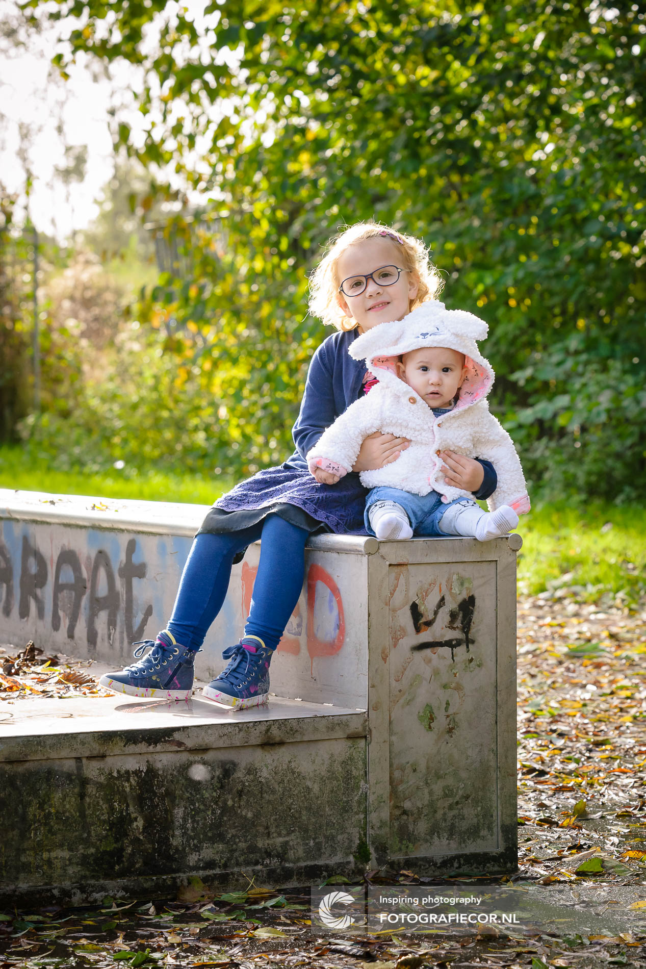 Fotoshoot | kinderen | park | herfst | gezin