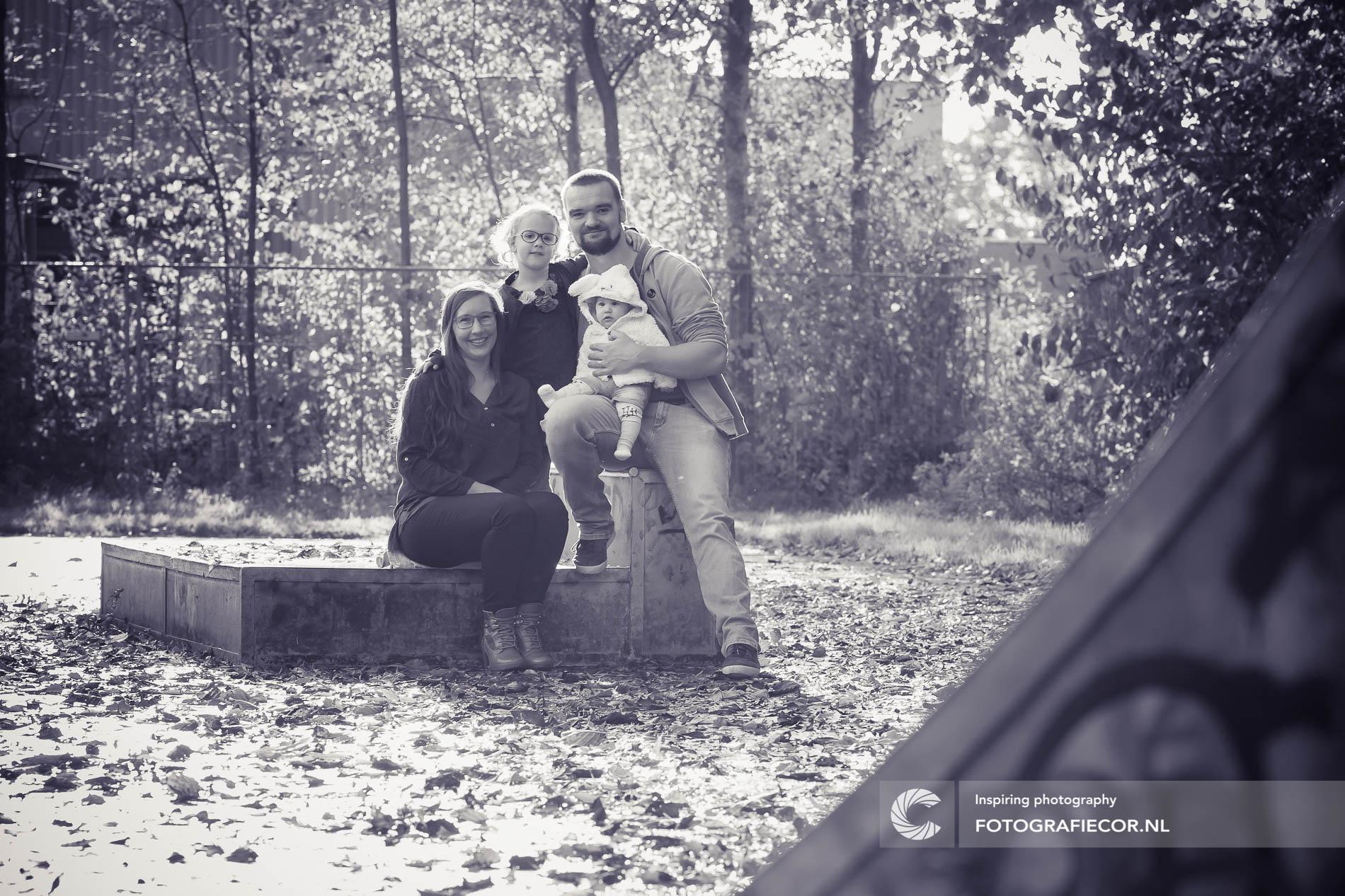 fotoshoot gezin | kampen | industrieel | park | herfst