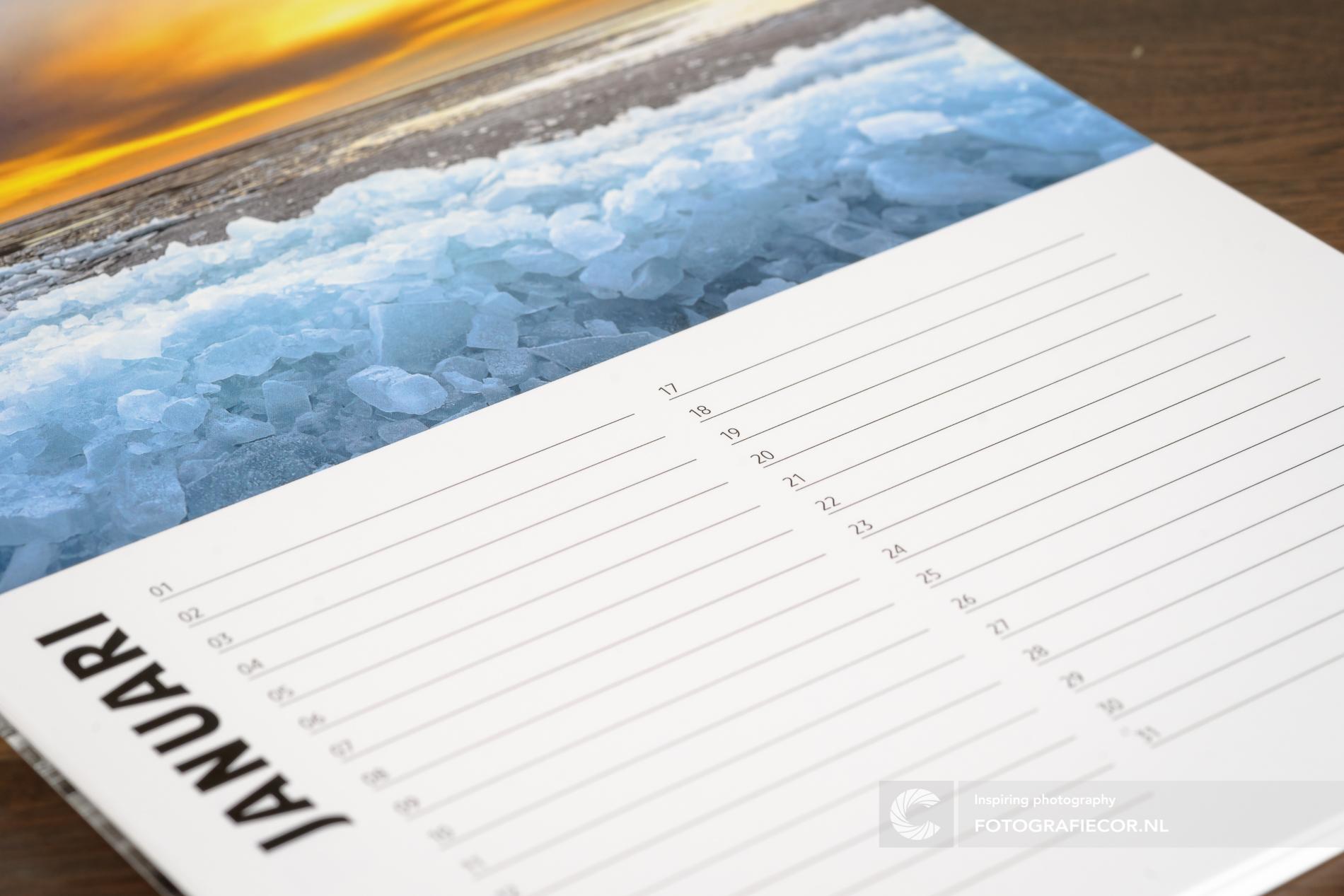 Kalender maken | verjaarskalender | januari | fotografie
