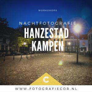 Workshop Nachtfotografie, fotograaf Kampen, Zwolle, Elburg. Fotocursus, Workshop