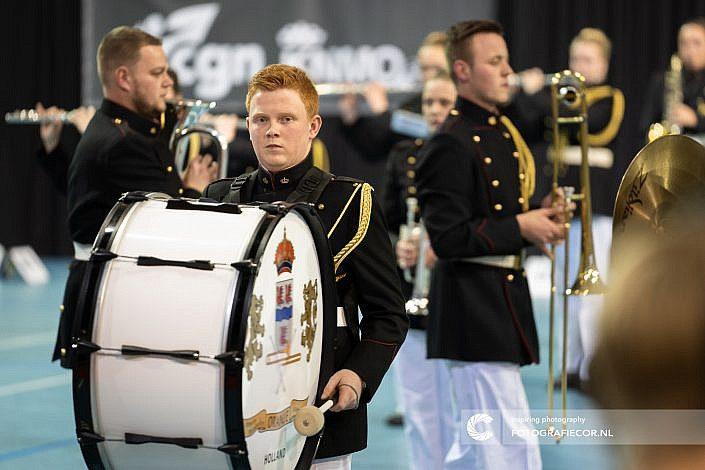 Oranje, Finals, Almere, Eindhoven, Leeuwarden - Color guard nederland - Fotograaf- Foto - CGN- United
