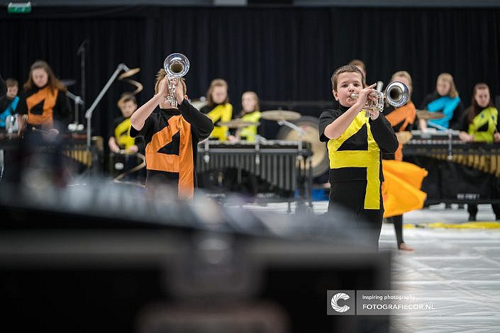 Jong Beatrix, Hilversum, Almere, Eindhoven, Leeuwarden - Color guard nederland - Fotograaf- Foto - CGN- United