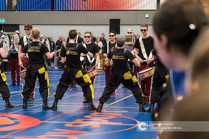 MV Noorderveld, Roden, Sternse slotlanders, Franeker, Drum battle, Almere, Eindhoven, Leeuwarden - Color guard nederland - Fotograaf- Foto - CGN- United
