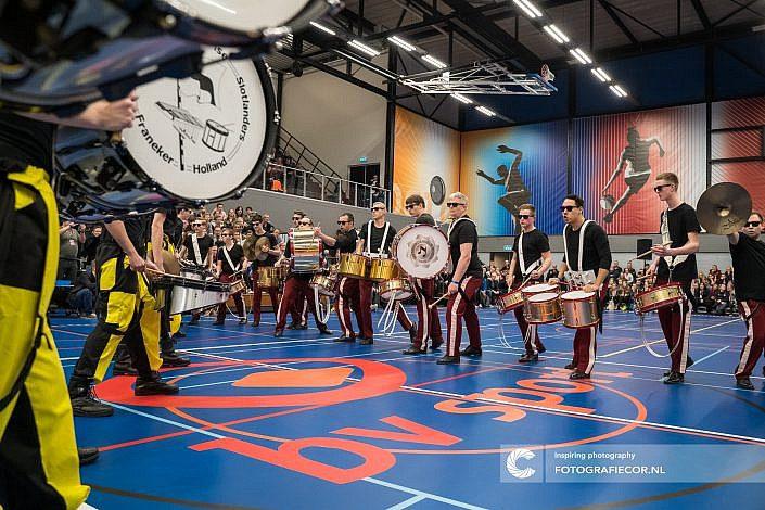 MV Noorderveld, Rode, Sternse slotlanders, Franeker, Drum battle, Almere, Eindhoven, Leeuwarden - Color guard nederland - Fotograaf- Foto - CGN- United