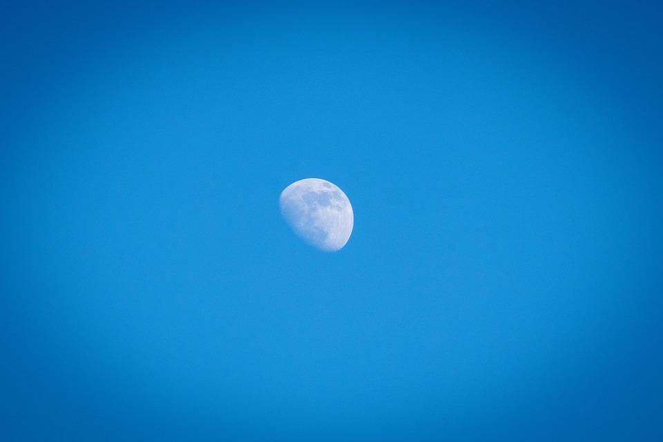 Juiste lens voor de maan fotograferen