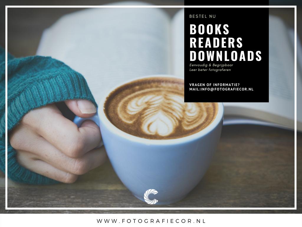 Book, Readers en downloads met informatie over fotografie