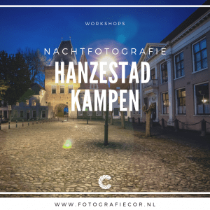 Workshop nachtfotografie fotograferen in Kampen