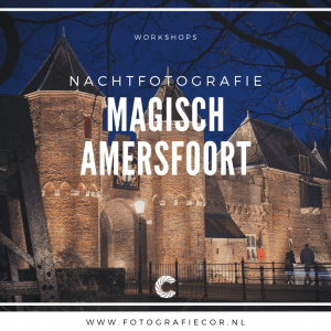 Workshop nachtfotografie fotograferen in Amersfoort