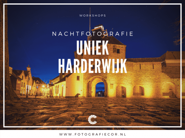 Workshop nachtfotografie fotograferen in Harderwijk