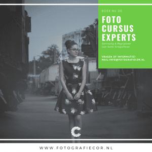 Fotografie voor Experts cursus voor de fotograaf