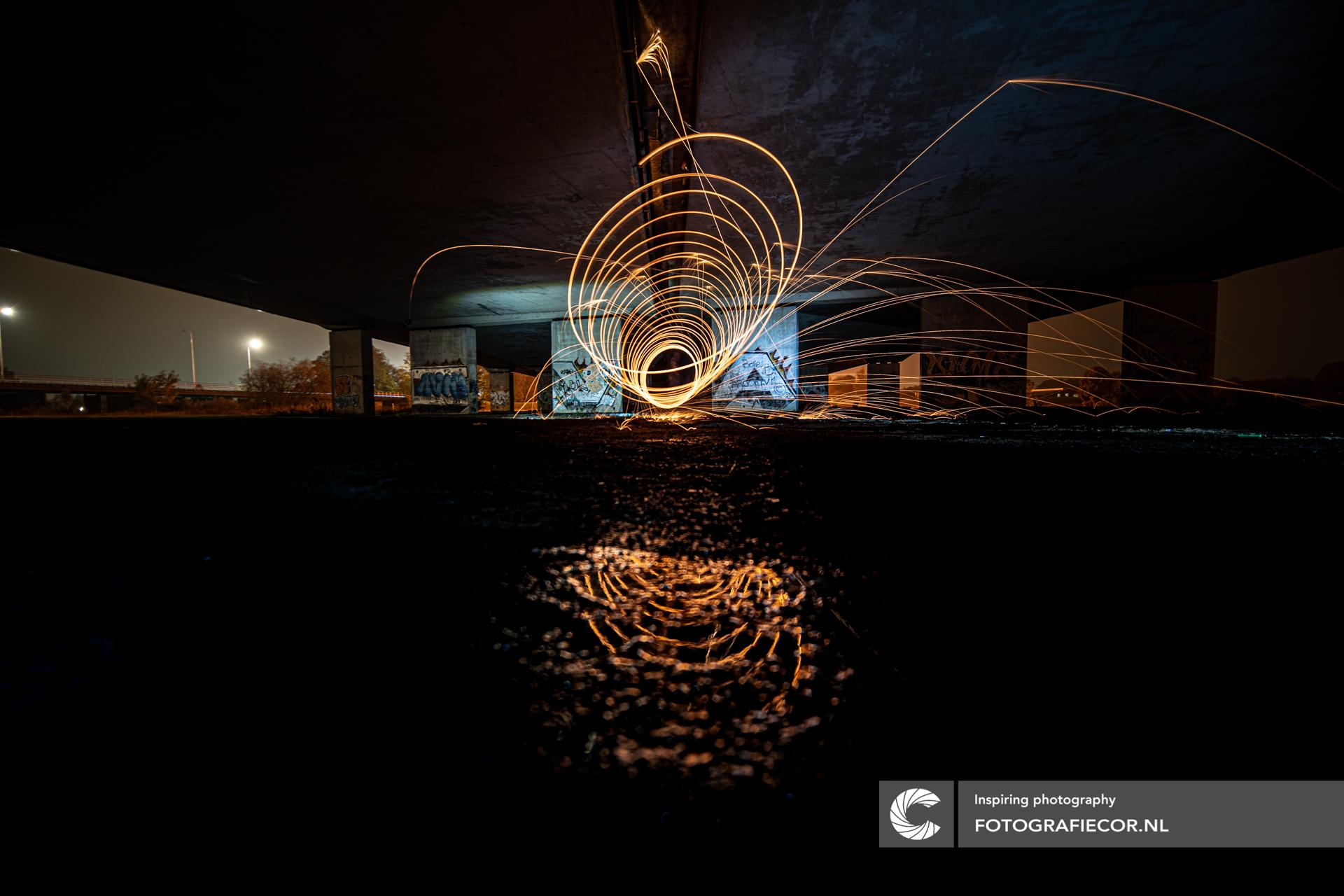 Workshop staalwol fotografie long exposure